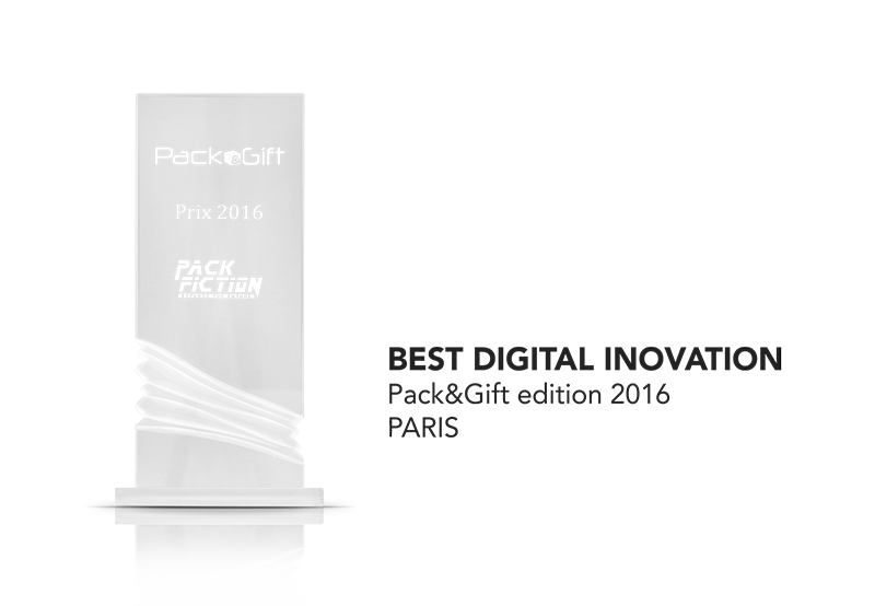 connected packaging best digital innovation retail pack&gift award